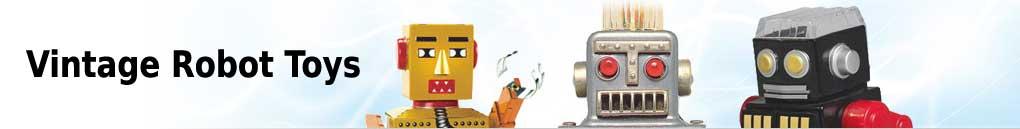Vintage Robot Toys