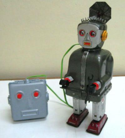 50s Nomura batop radar tin robot
