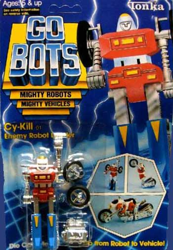 Cykill Gobot robot toy