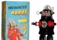 Robby the Robot Toys from the 50s