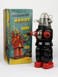 Nomura Robby the Robot Toy 1950s