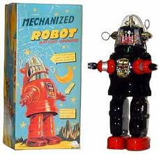 Robby the Robot Toy 1950