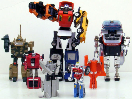 80s Super GoBots Action Figure Toys