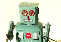 1950s Lantern Robot Toy