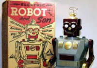 Marx Robot Toys from the 50s